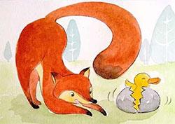 狐狸爸爸鸭儿子