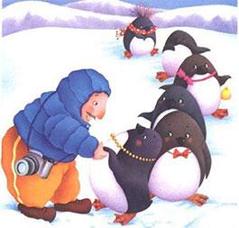花帽子企鹅