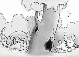 小兔子三个洞的家(狡兔三窟)