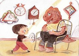 恐龙的闹钟