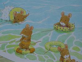 7只老鼠在海邊
