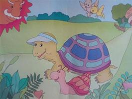 大班故事|懒惰的小蜗牛