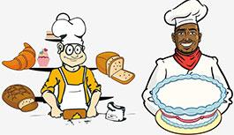 面包和蛋糕