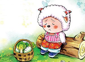 美美羊的炒青菜