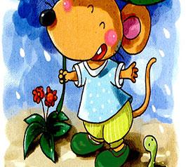 麦芽鼠的小雨鞋