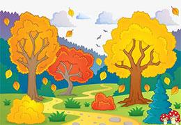 秋風和落葉