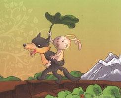 騎狼的�兔