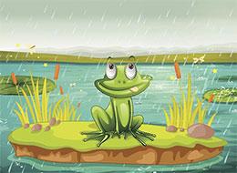 青蛙弗洛格是個大英雄