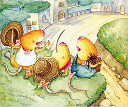 三个鼠兄弟|屋顶的草坪