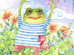 跳跳蛙过生日(朋友的邀请)