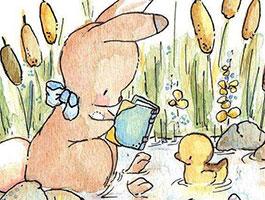 兔子小拉的故事