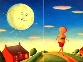 我带月亮去散步