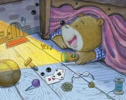 熊爸爸的手电筒