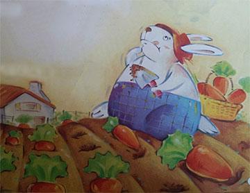 小白兔的蔬菜汤