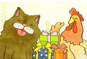 小黑狗的礼物
