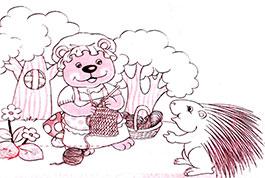 小豪猪的新毛衣