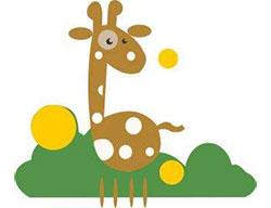 小鹿和泥塘