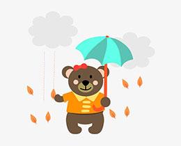 雨中疊羅漢
