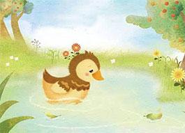 小鸭子找朋友