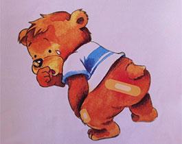 橡皮膏小熊