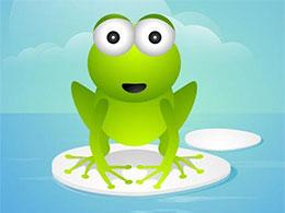 一隻��蛙