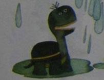 小乌龟看花