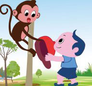 谢谢小猴子