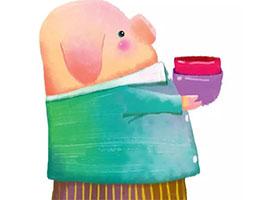 小象家的香木碗
