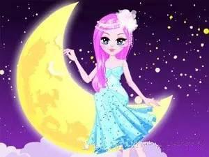 儿童童话故事爱发脾气的月亮公主