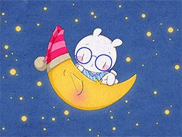 月亮上的小白兔