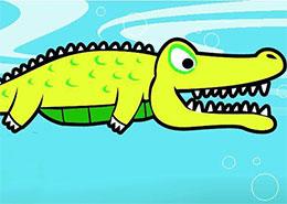 鱷魚與黃鸝