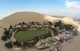 地球最干燥之地的绿洲城市