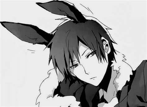 兔耳朵男孩