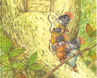 三个鼠兄弟野果项链
