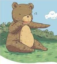 爱哭的小灰熊