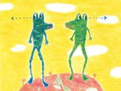 两只青蛙去旅行
