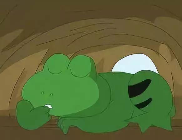 青蛙阿肚的春雷