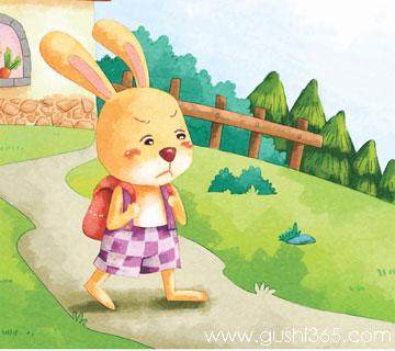花格兔離家出走