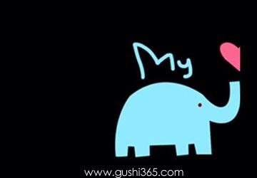 一頭藍象經過我窗口