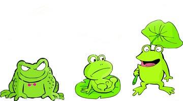 愛說大話的青蛙(青蛙吹牛)