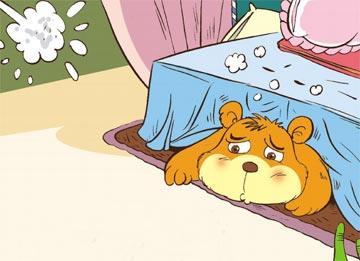 毛茸茸的小熊