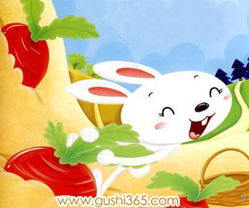 小白兔吃萝卜 gif