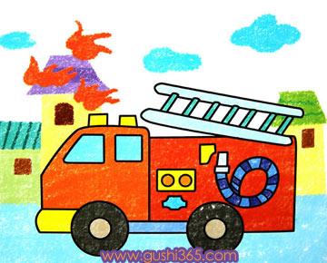 消防車與火精靈