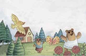 熊丫头的玫瑰红裙子